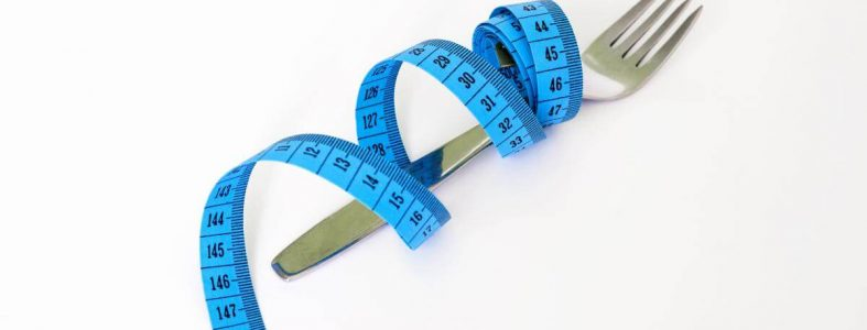 blue measuring tape fork biggest loser and fitness