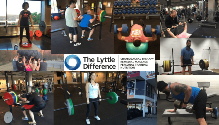 Personal Trainer weight lifting - Daniel Lyttle